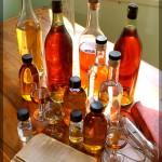 Cognac-Flaschen