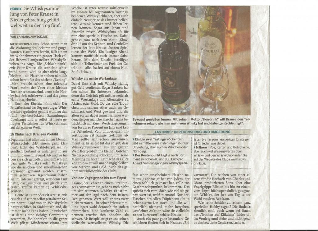 Mittelbayerische Zeitung 2012