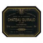 chateau guiraud 2001 sauternes label