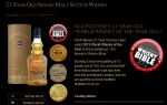 old pulteney 21 accolades