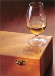 smws wooden box and glass