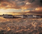 Bowmore in storm from poster