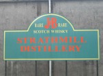 Strathmill Distillery Sign J&B
