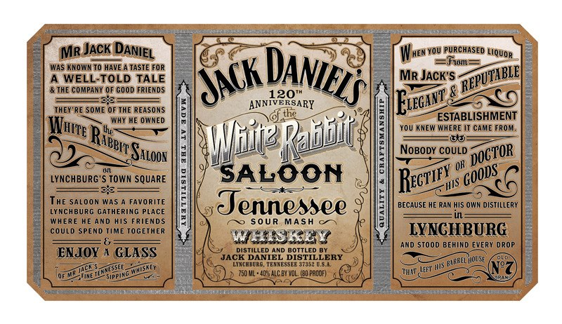 Jack Rabbit Usa >> Quick Post: White Rabbit Saloon 120th Anniversary – The New Jack Daniel's Limited Release