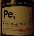 Port Ellen Pe1 label