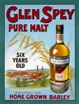 Glen Spey Pure Malt Sign Distillery old historic