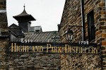 Highland Park Distillery Entrance