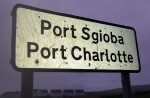 Port Charlotte Sign Port Sgioba