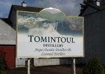 Tomintoul Distillery Sign