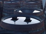 Ardbeg Pagodas reflected on casks