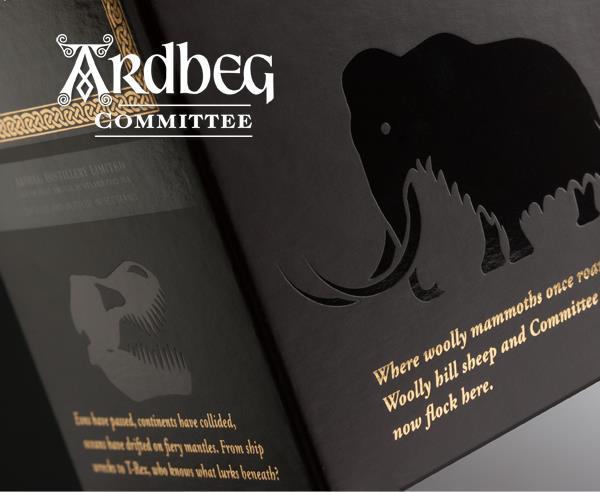Ardbeg Ardbog new Committee mammoths