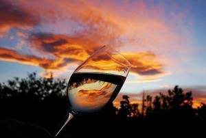 Clouds in a glass