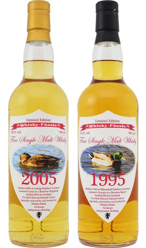 Ledaig 2005 Whisky-Fässle Miltonduff 1995