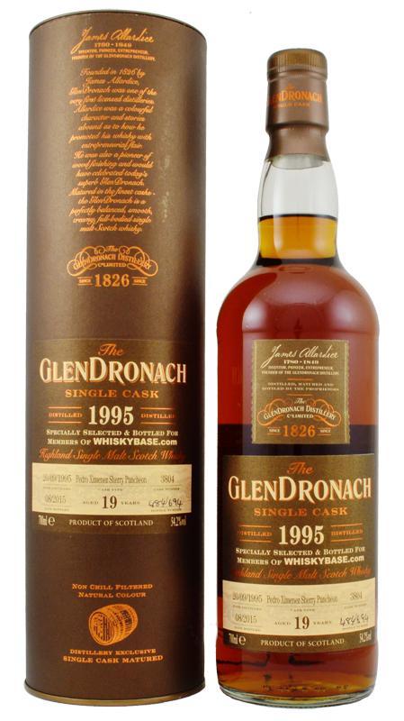 Glendronach 19 whiskybase 1995 PX big