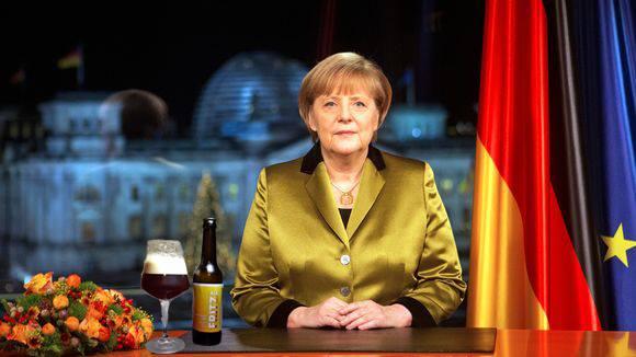 Merkel trinkt Fritz Pale Ale ;)