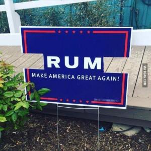 Trump Rum
